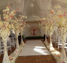 Оформление свадебного шатра в Могилеве