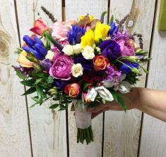 Купить яркий свадебный букет с доставкой в Могилеве