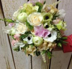 Купить свадебный букет с анемонами 001 с доставкой в Могилеве